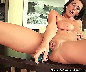 Sweet Matured Milf With Big Tits And Creamy Pussy