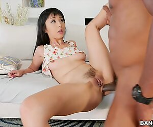 Marica Hase is scared of the big black cock