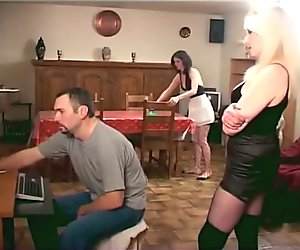 dominated couple have fun with thire slave - Java Productions