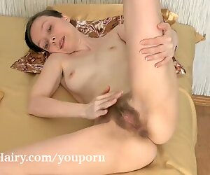 Trixie finishes reading and masturbates in bed