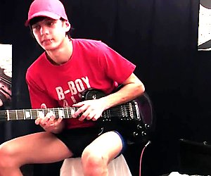 Emo Boy Guitarist Dale (Hot outtakes!)