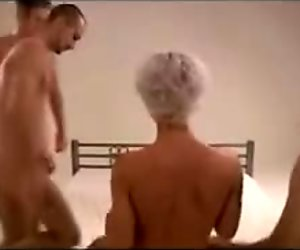 Hot amateur gangbang in germany part 1 of 6 german csm