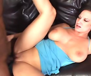 Best boob brunette mother in heat spread mature vagina with submissive BBC