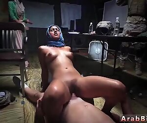 Hairy arab fuck Sneaking in the Base!