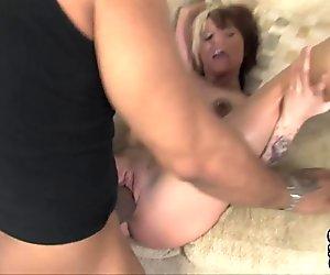 Slut wife suck and fuck black guy when hubby watch