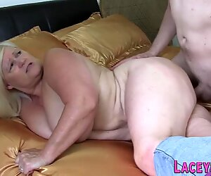 Chubby gran Lacey Starr