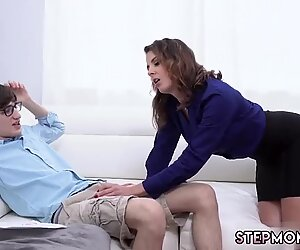 Naughty america my chums hot mom Fucking The Stepassociate s son As Punishment
