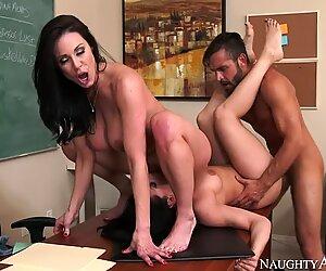 Gracie Glam & Kendra Lust & Daniel Hunter in My First Sex Teacher